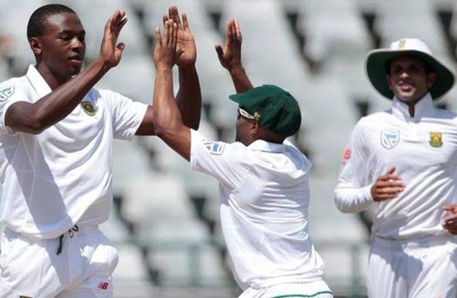 South Africa v Sri Lanka: Kagiso Rabada stars as hosts seal series