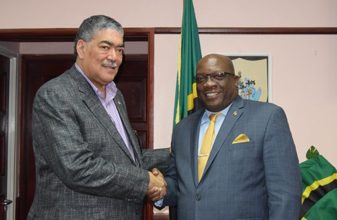 Dominican Republic's Regional Integration Minister meets with Prime Minister Harris; extends personal invitation to CELEC meeting