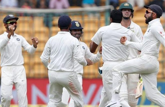 India v Australia: Ravichandran Ashwin leads home side to dramatic win to level Test series