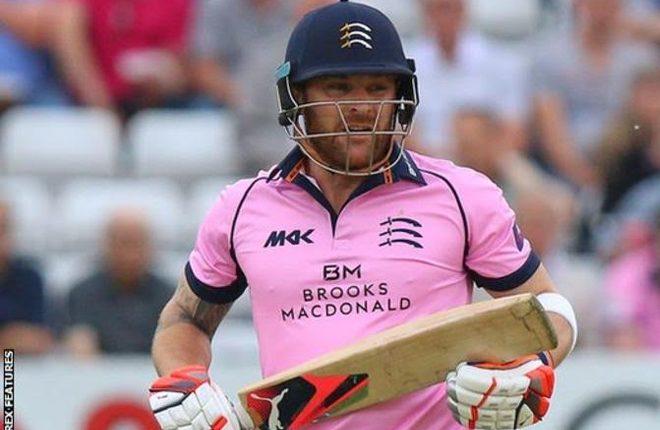Brendan McCullum: Former New Zealand batsman named Middlesex T20 Blast captain