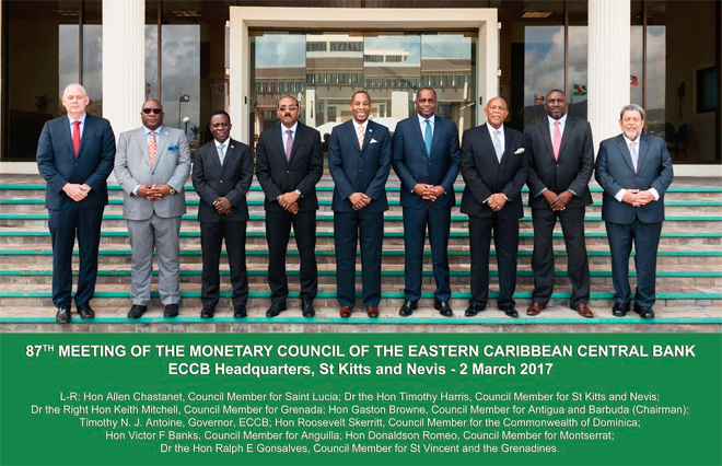 Credit reporting system for the Eastern Caribbean Currency Union expected to boost lending, which has been falling in ECCU countries