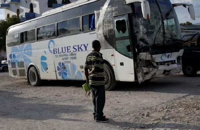 38 Dead in Haiti as Bus Driver Hits Pedestrians and Just Keeps Going