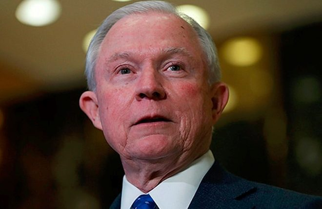 Trump Attorney General Jeff Sessions under fire over Russia meetings