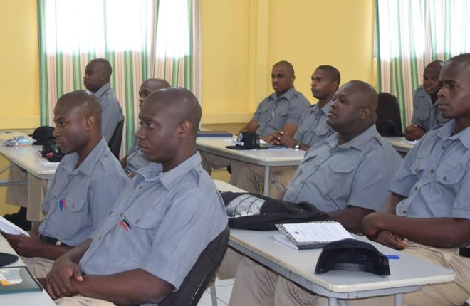 Thirty four recruits begin training in Police Training Class 41