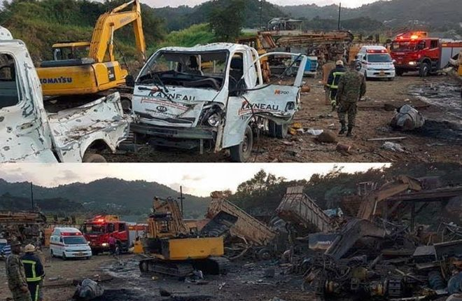 Deadly Explosion in St Lucia