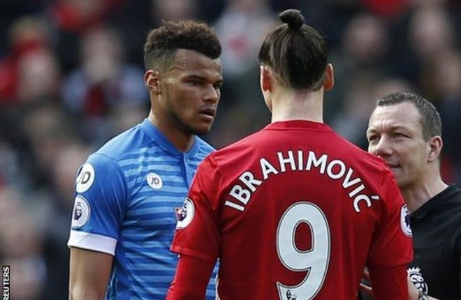 Zlatan Ibrahimovic: Man Utd striker banned for three games for violent conduct