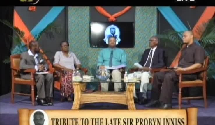 Tribute to the Late Sir Probyn Inniss M.B.E, B.A, D.P.A, F.B.I.M.