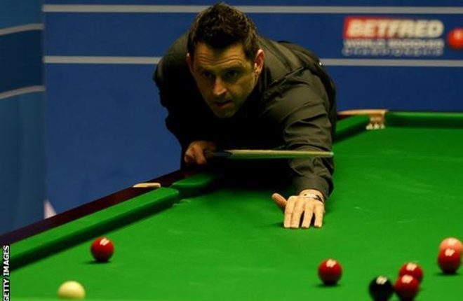 World Championship 2017: Ding Junhui takes charge against Ronnie O'Sullivan