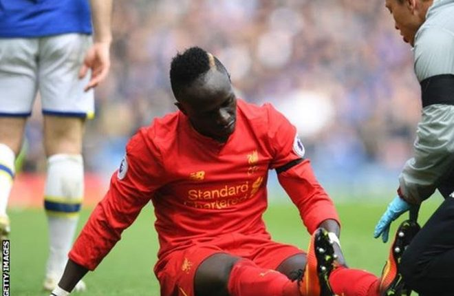 Sadio Mane: Liverpool forward to have knee surgery and will miss the end of the season