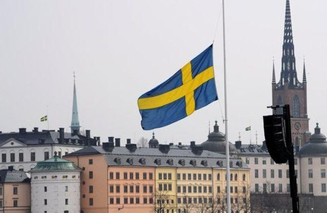 Stockholm attack: Sweden holds minute's silence for victims