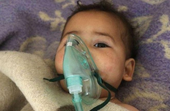 Syria conflict: 'Chemical attack' in Idlib kills 58