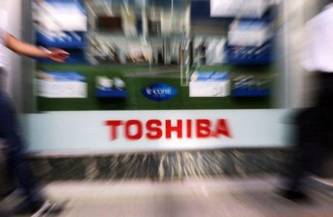 Toshiba files unaudited results and says future is in doubt