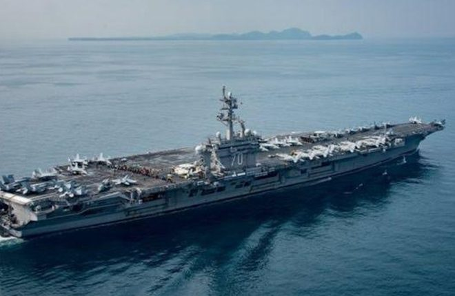 North Korea tensions: US submarine arrives in South Korea