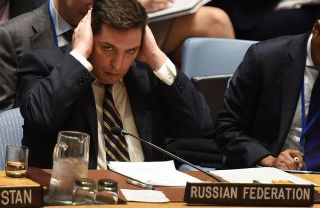 Syria chemical 'attack': Russia faces fury at UN Security Council