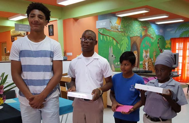 Charles A. Halbert Public Library awards three outstanding readers in Read-a-thon