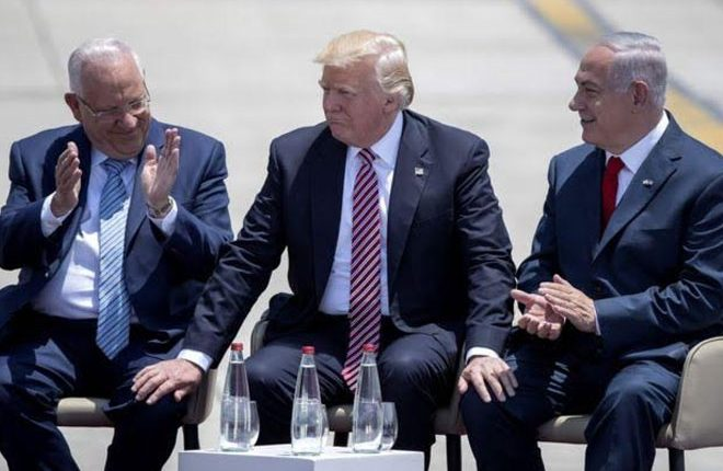 Trump tells Israel Iran will never have nuclear weapons