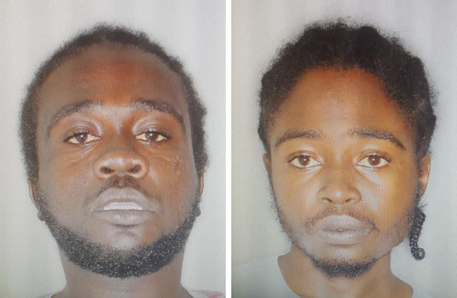 Two charged in Saturday night (May 27) pellet gun incident