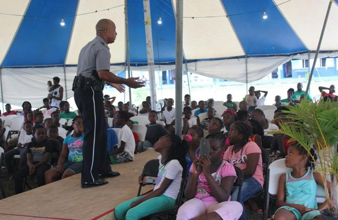Police eager to welcome 200 children to inaugural camp