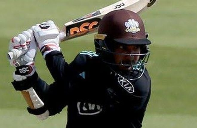 One-Day Cup: Kumar Sangakkara's 100th century sets up Surrey win at Yorkshire