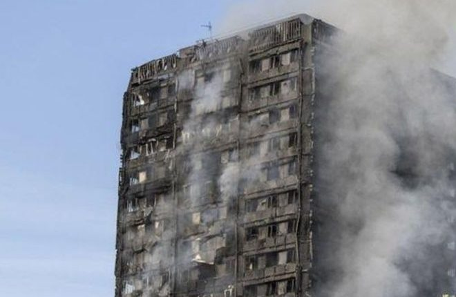 London fire: Six killed as Grenfell Tower engulfed