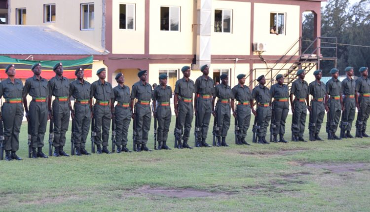 Nineteen recruits added to the St. Kitts-Nevis Defence Force