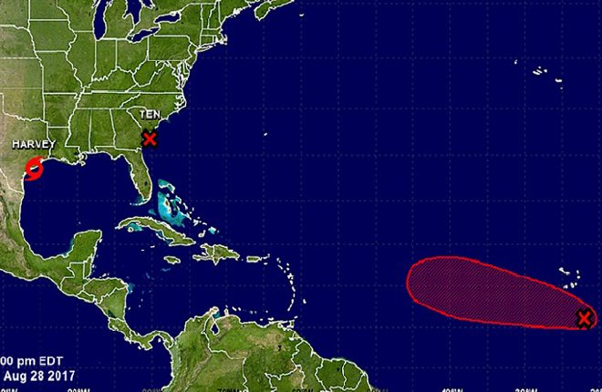 One of Two Systems in the Atlantic Could Become Tropical Storm Irma