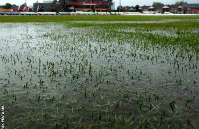 Derbyshire v Glamorgan: County Championship match abandoned after rain