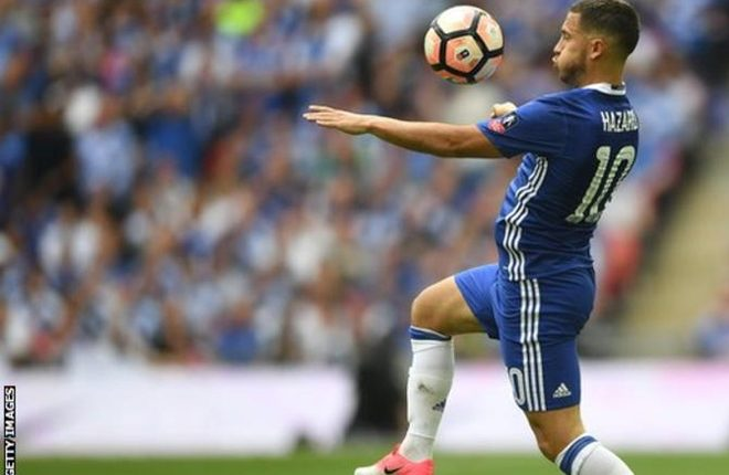 Eden Hazard: Chelsea winger back in squad to face Leicester City