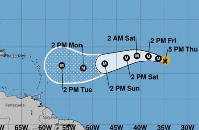 Irma becomes a category three hurricane