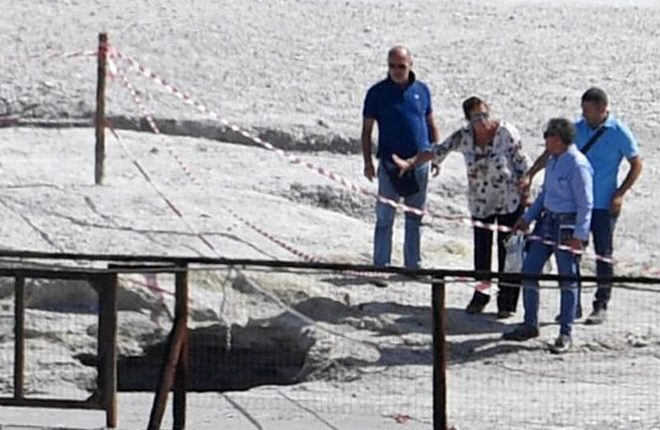 Italian couple and son die at Solfatara volcano crater