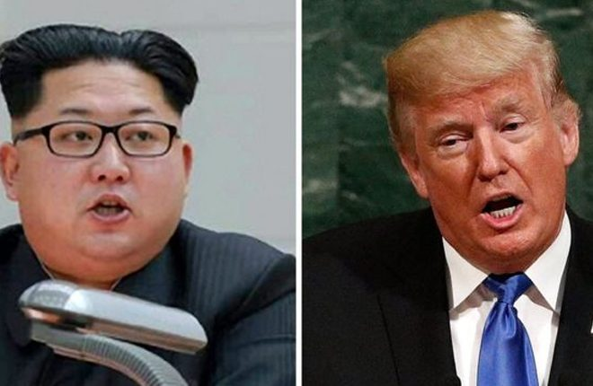 North Korea: Trump and Kim call each other mad