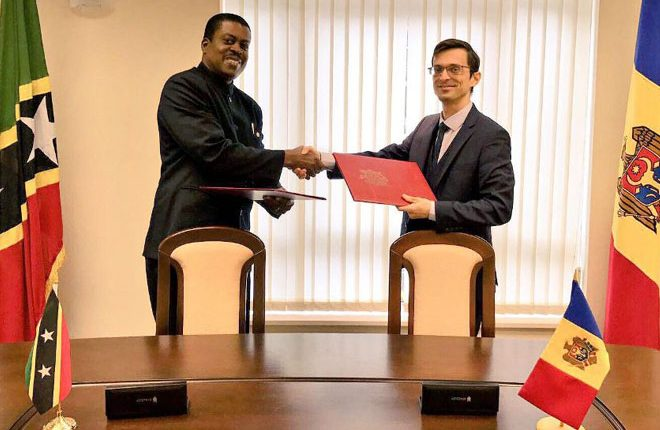 St. Kitts and Nevis and Moldova establish diplomatic relations