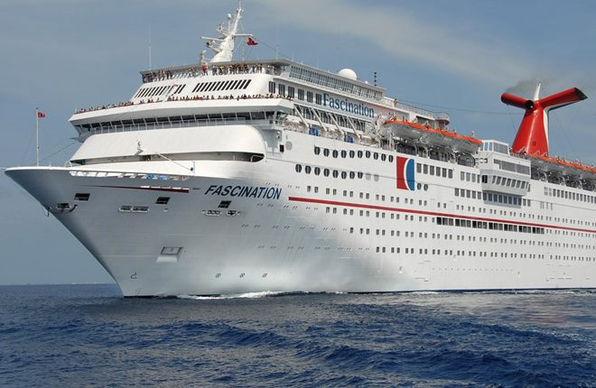 Carnival Fascination docks at Port Zante two days after passage of Hurricane Irma