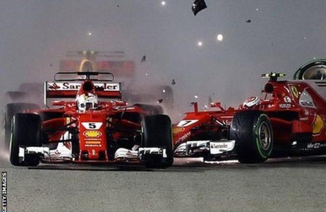 Singapore Grand Prix: Has Sebastian Vettel's aggression just cost him the title?