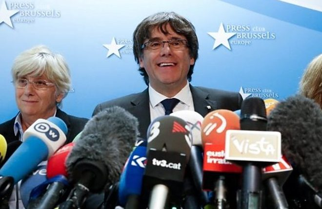 Catalonia: Puigdemont 'will not return' to Spain for questioning