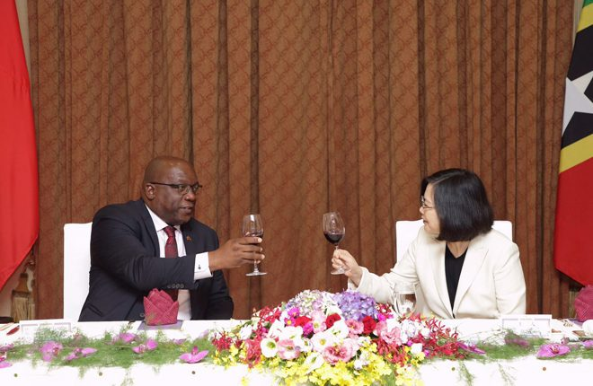 St. Kitts and Nevis reaffirms its commitment to the Republic of China (Taiwan)
