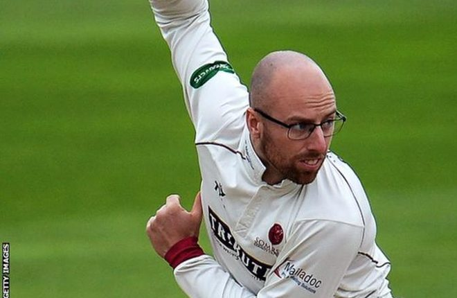 Jack Leach: Somerset spinner says remodelling his action was a 'dark time'