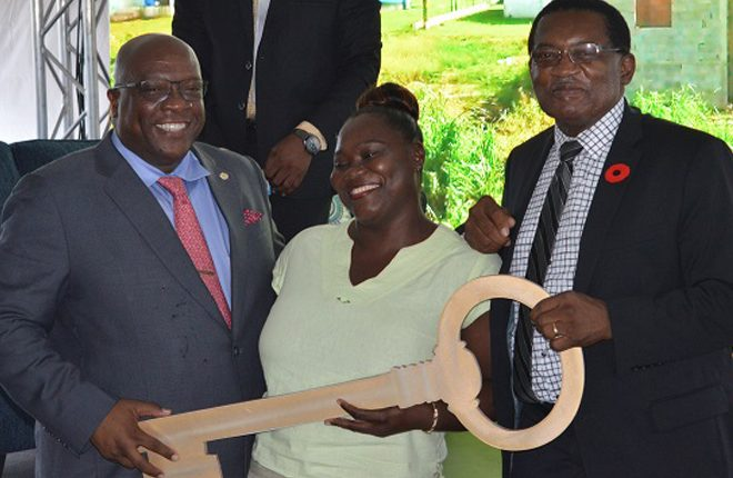 NHC hands over keys to 14 houses under the Unity Housing Solutions Programme