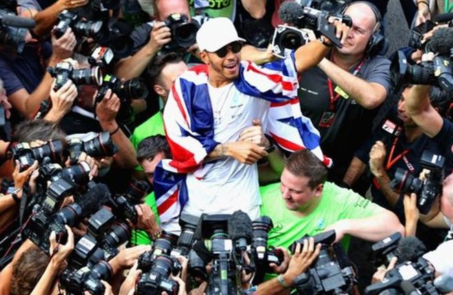 Lewis Hamilton says he does not have the desire to match Michael Schumacher