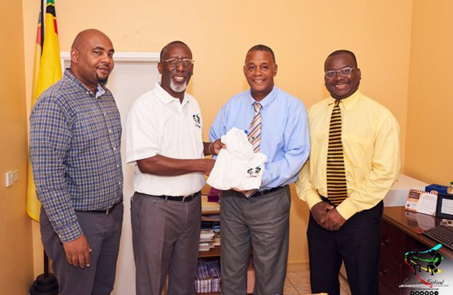 Culturama officials pay courtesy call on new Nevis Culture minister