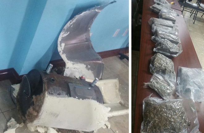 Officers find illegal drugs concealed in water heater