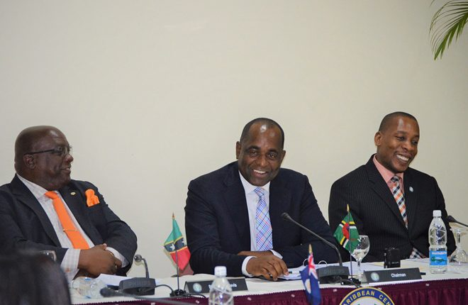 """As OECS heads move to finalize MOU on their CBI Programmes, PM Skerrit declares """"no race to the bottom"""""""