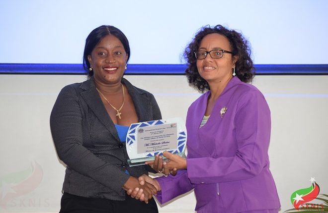 Women in St. Kitts honoured for their significant contributions on International Women's Day