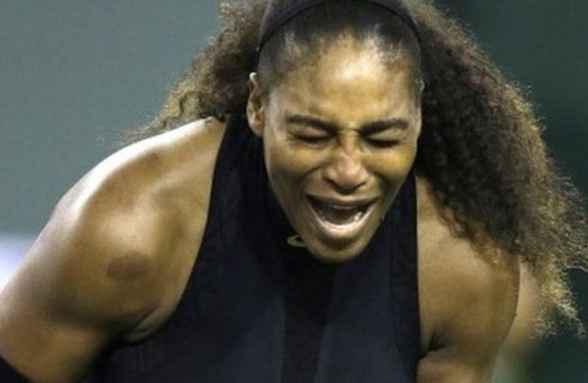 Serena Williams beats Zarina Diyas in first round at Indian Wells