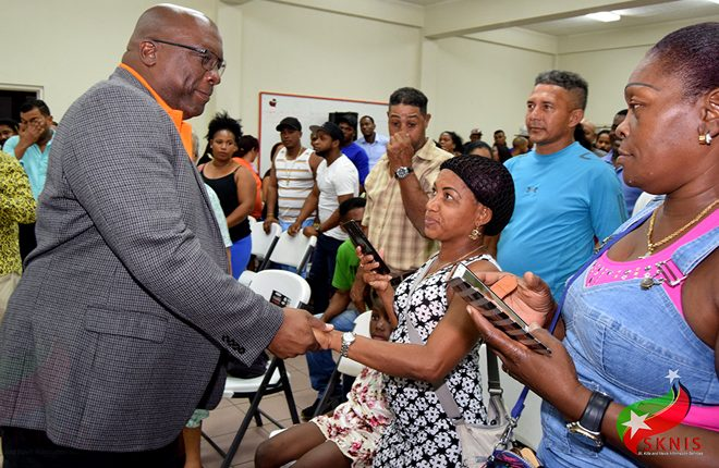 Hundreds in Hispanic community turn out to dialogue with Prime Minister Harris on socio-economic issues