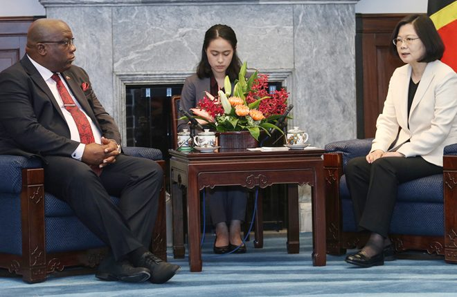 PM Harris expresses condolences to Taiwan's President Tsai on the passing of her mother