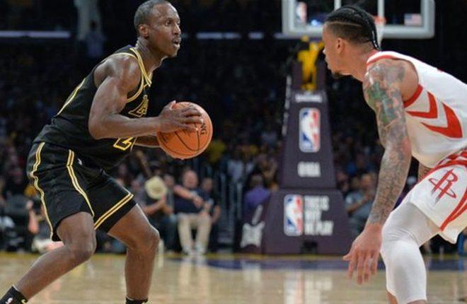 Andre Ingram: LA Lakers player makes NBA debut aged 32
