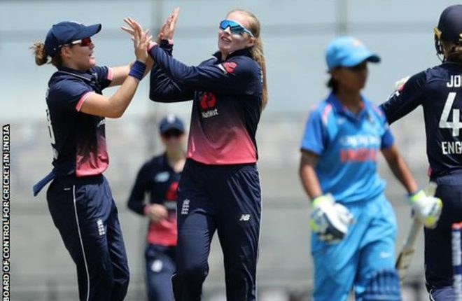 England women in India: Hosts complete series win