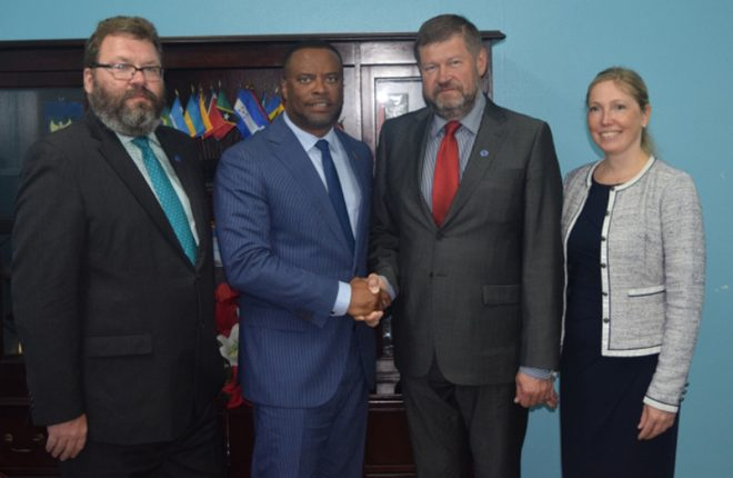 High level meetings between Estonia and St. Kitts-Nevis convene
