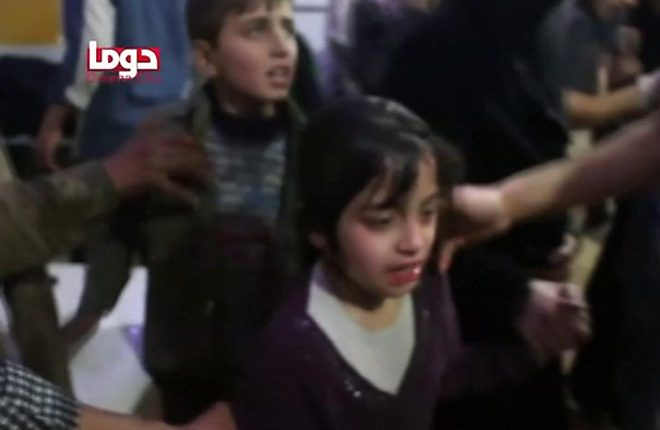 Syria conflict: Russia says no evidence of Douma chemical attack